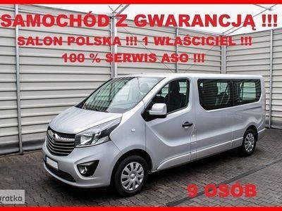używany Opel Vivaro 9 OSÓB + LONG L2H1 + 146 KM + Salon PL + 1 WŁ.+ 100 % Serwis !!