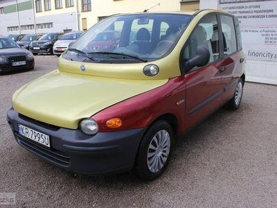 używany Fiat Multipla Salon Polska, klimatyzacja 2-gi właściciel!