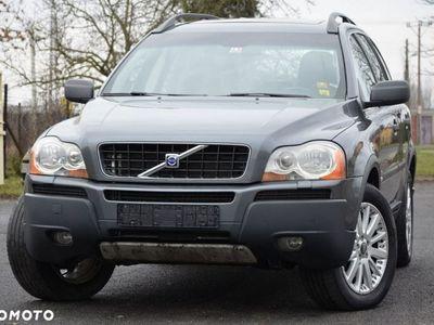 używany Volvo XC90 2.4dm3 163KM 2005r. 265 000km Opłacone 2.4D5 163KM DVD Skóra Navi 7-foteli Alu PDC Gwar