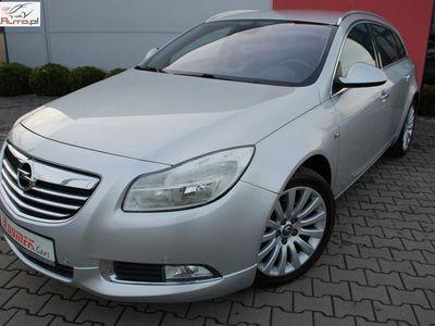 używany Opel Insignia 2dm3 160KM 2010r. 110 890km Opłacona.