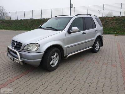używany Mercedes ML270 Klasa ML W163CDI Klima 2001r zarejestrowany