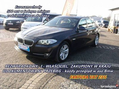 używany BMW 525 2dm3 217KM 2012r. 133 000km 2.0 D 217 KM Navi Salon Polska
