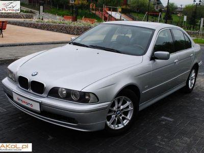 używany BMW 520 2dm3 136KM 2002r. 208 211km 2.0D 136KM Klimatronik Alu rej. PL