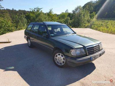 używany Mercedes E300 W124 D 94 Skóra SportLine Klima Tempomat