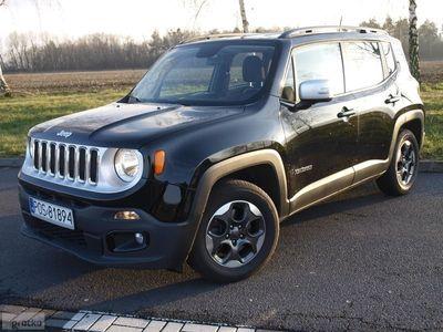 używany Jeep Renegade I 1.6 benzyna,110 KM, alu, navi, klima, PDC, Ostrów Wielkopolski