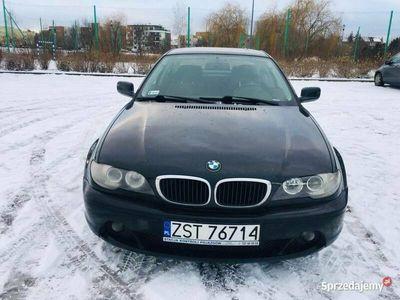 używany BMW 320 d coupe 2.0 diesel e46 alufelgi półskóry