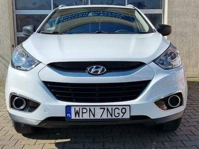 używany Hyundai ix35 2.0 163 KM B+GAZ alufelgi climatronic gwarancja
