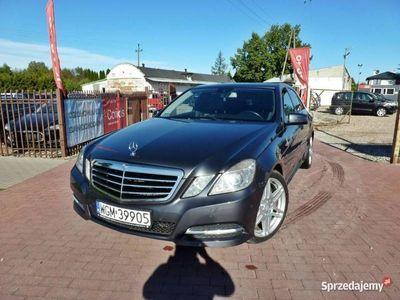 używany Mercedes E200 1.8 CNG Led Biksenon Automat Zadbany W212 (2009-)