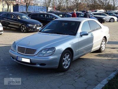 brugt Mercedes 320 Klasa S W2203.2 Benzyna+GAZ* Skóra* Xenon* Navi* Zadbany
