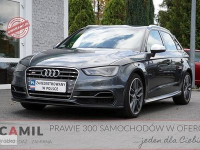 używany Audi S3 Sportback III (8V) 2.0 TFSI 301KM, AUTOMAT, Perfekcyjny, Gwarancja, F-VAT 23%