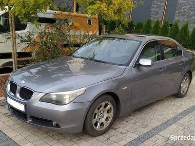 używany BMW 520 Seria 5 E60 Sedan benzyna 2.2i 170KM 2003
