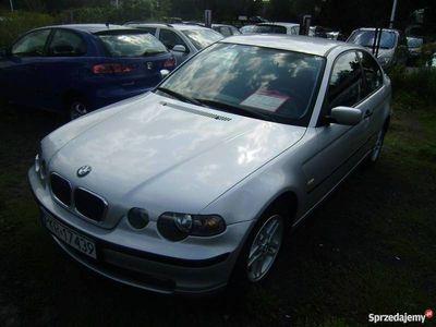 używany BMW 318 1.8dm 116KM 2002r. 161 000km