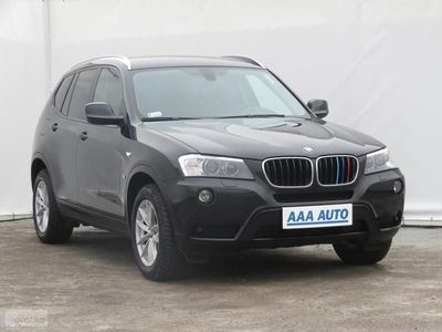 używany BMW X3 II (F25) Salon Polska, Serwis ASO, 181 KM, Automat, Skóra, Navi,
