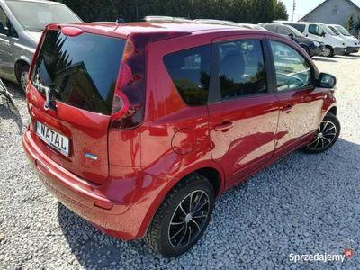 używany Nissan Note 1.4dm 88KM 2010r. 197 000km