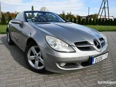 używany Mercedes SLK200 1.8dm 160KM 2005r. 146 000km