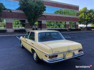 używany Mercedes W114 inny Klasyk -Benz 280 SEL 2.7L benz. 160 KM1973