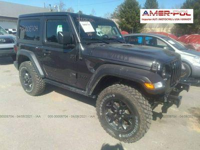 używany Jeep Wrangler 2021, 3.6L, 4x4, WILLYS SPORT, od ubezpieczalni III (2006-)