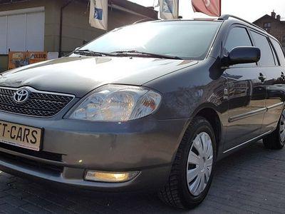 używany Toyota Corolla 1.6dm3 110KM 2004r. 186 300km 1.6 110KM klima, przyciemniane szyby, kombi, opłacona