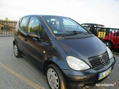 używany Mercedes A140 1,4B klima stan b.dobry przygotowany do rejestracji opłacony W168 (1997-2004)