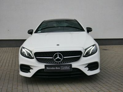 używany Mercedes E200 Coupé