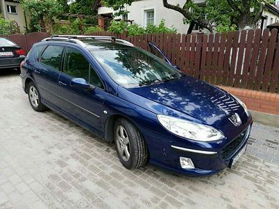 używany Peugeot 407 2dm 136KM 2008r. 280 000km