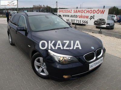 używany BMW 530 3dm3 197KM 2008r. 270 000km ABS automatyczna klima.