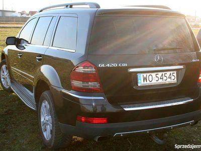 używany Mercedes GL420 X164 4matic. Europa.
