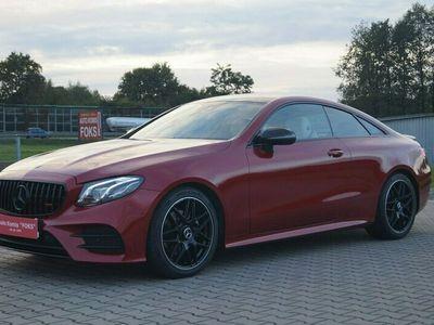 używany Mercedes E220 2dm 195KM 2018r. 30 000km