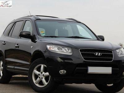 brugt Hyundai Santa Fe 2.2dm3 155KM 2007r. 173 000km 155KM Skóry Klimatronik Bogate Wyposażenie Czarne z Niemiec