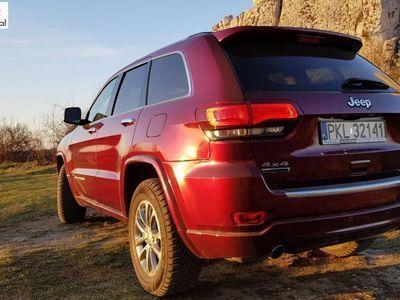 używany Jeep Grand Cherokee 3dm3 250KM 2016r. 39 000km Diesel V6 3.0 250KM 4x4. Limited. Kamera, duży ekran, komfort dostęp.