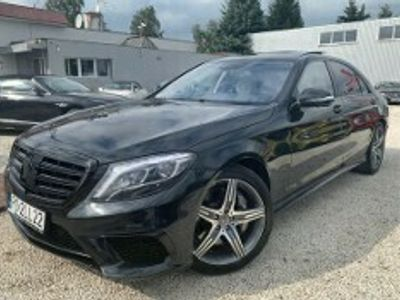 używany Mercedes S63 AMG Klasa S W222AMG 4-Matic Long W222 585 KM Black Edition