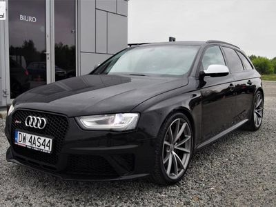 używany Audi RS4 4.2dm3 450KM 2014r. 89 000km 4.2 V8 450KM 2014r 89tys. km. Quattro, S-Tronic, Bi-xenon + LED, FV23%