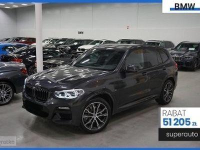 używany BMW X3 G01 2.0 xDrive20d (190KM) | Connected Drive Plus