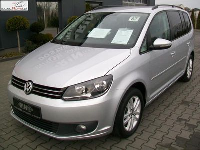 used VW Touran 1.4dm3 140KM 2014r. 176 000km 1,4TSI 140KM A/C 5 OSÓB MOD 15r COMFORTLINE NR 67