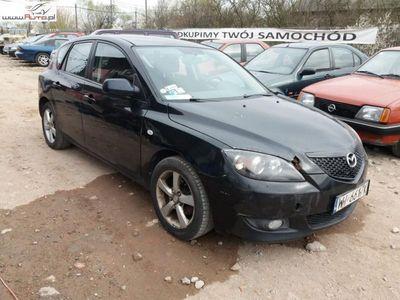 brugt Mazda 3 1.6dm3 105KM 2004r. 164 000km 2004r 1,6 Benzyna Tanio Wawa
