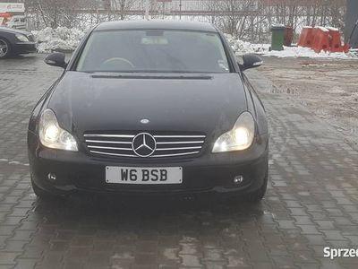używany Mercedes CLS320 CDI anglik stan bardzo dobry