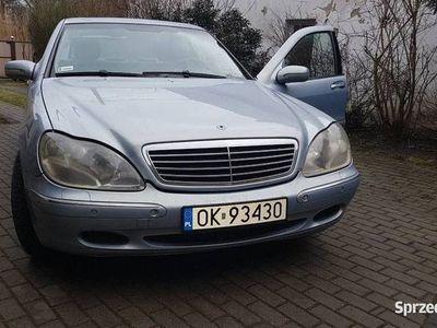 używany Mercedes S320 lpg w220 oryginal