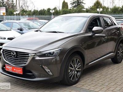 używany Mazda CX-3 SKYACTIV - automat - bogata opcja - navi - skóra 4X4 !!!