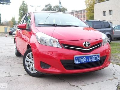 używany Toyota Yaris III Salon Pl, 1 wł, klima, komp, ASO, ciężarowy !