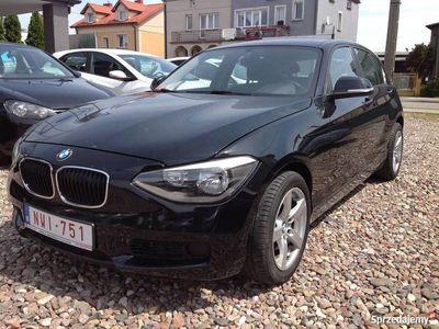 używany BMW 116 i 140 KM po opłatach zamiana