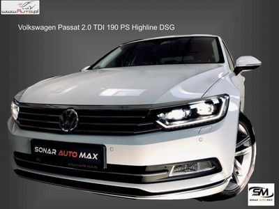 brugt VW Passat 2dm3 190KM 2017r. 69 100km 2.0 TDI Highline Salon Polska - Przejecie leasingu