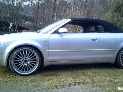 """używany Audi A4 Cabriolet B6 V6 2.4 S Line 2002 r. 20""""/245/30 lux"""
