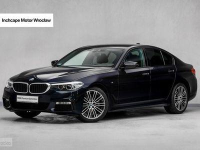 używany BMW 520 seria 5 2.0dm3 190KM 2017r. 16 500km d xDrive Limuzyna | Pakiet Sportowy M |