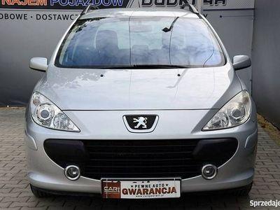 używany Peugeot 307 1.6dm3 110KM 2006r. 196 000km 1,6 16V Klimatronic Alus Opłacony 186