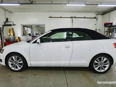 używany Audi A3 Cabriolet 2.0TDI DSG Perfekt Przebieg 82TKM ASO