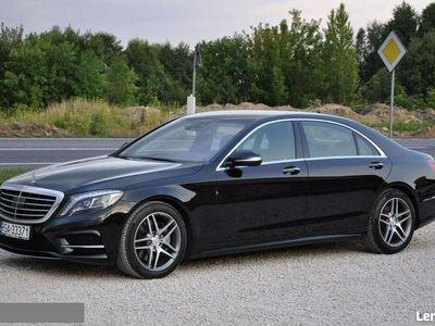 używany Mercedes S350 3dm 258KM 2014r. 130 000km