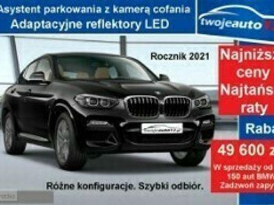 używany BMW X4 II xDrive30i, M Sport, Asystent parkowania z kamerą cofania+ LEDY, 2021