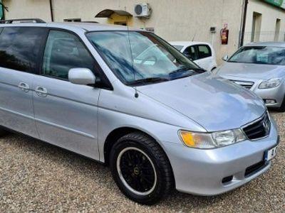 używany Honda Odyssey 7 miejsc, skóry, DVD II (1999-2004)
