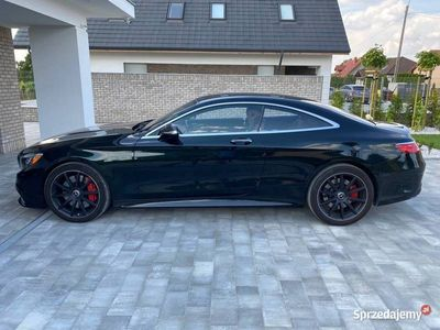 używany Mercedes S63 AMG AMG Coupe, 4MATIC, V8 BiTurbo, 585 KM, LED