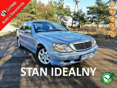 używany Mercedes S320 3.2dm 224KM 2001r. 134 000km